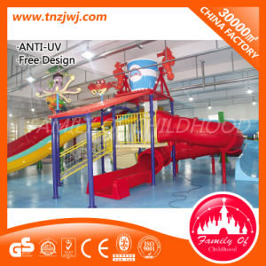 Fiberglass Kids Water Play Slide Equipment for Swimming Pool pictures & photos
