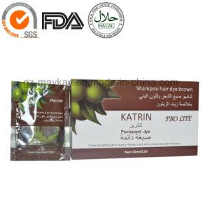 Katrin Hair Dye Shampoo Brown (Arabic hair color shampoo) pictures & photos