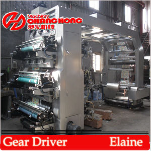 Colors Flexographic Printing Machine/ Colors Flexographic Printing Machinery pictures & photos