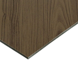 Wooden Finished ACP Acm Aluminium Composite Panel pictures & photos