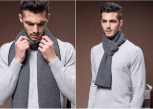 Men′s Fashion Winter Warm Wool Woven Long Scarf (YKY4610) pictures & photos
