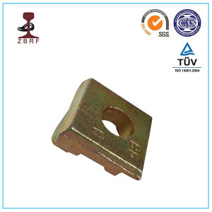 Rail Fixing Base Plate Clamp in HDG pictures & photos