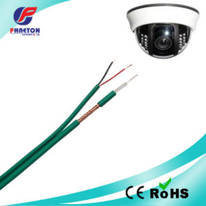 Green Kx6 with 2c Power Coaxial CCTV Cable pictures & photos