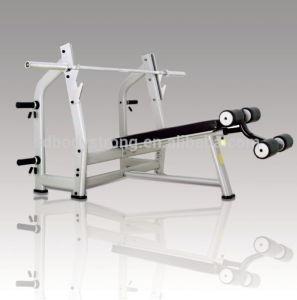 J-024 Decline Bench Free Weight Luxury Machine pictures & photos