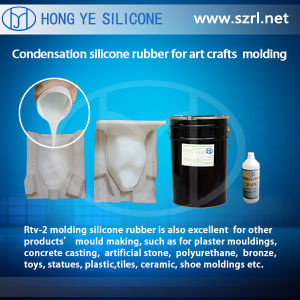 Brushing RTV-2 Molding Silicone Rubber pictures & photos