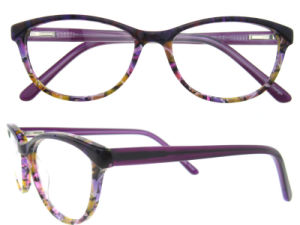 Four Color Acetate Optical Eye Wear Pattern Front Frame pictures & photos