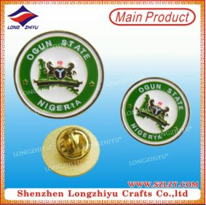 OEM Custom Design Metal Seal Stamp Alloy Pin Badge pictures & photos
