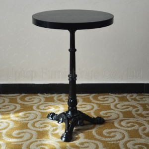 Exotic Round Black Cast Iron French Bistro Table (SP-RT475) pictures & photos