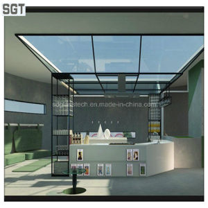 Construction Glass Clear Toughened Glass Safety Glass4mm-18mm for Roof pictures & photos