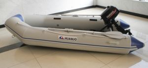 3.2m Dinghy PVC Inflatable Rescue Boat with Motor pictures & photos