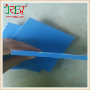 5mm*100mm*100mm Blue Silicone Thermal Gap Pad pictures & photos