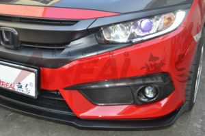 for Civic X 10th 2015+ Type R Front Diffuser pictures & photos