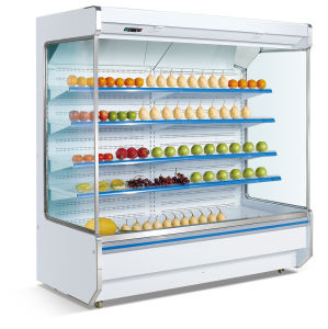 Good Quality Open Refrigerator Display Showcase pictures & photos
