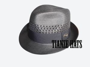 Polypropolyn Braid Trilby Men′s Hat pictures & photos