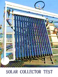 Domestic Heatpipe Anti-Freeze 6 Bar Pressure Solar Collector pictures & photos