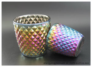 Wholesale Colorful Ion Plating Decorative Candle Holders pictures & photos