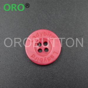 Colored Plastic Resin Buttons for Baby Sweater
