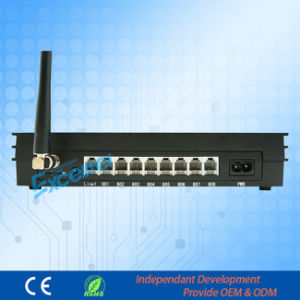 Wireless Soho Telephone System PBX 1 Co Line 8 Extensions with 1 GSM pictures & photos