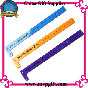 One Time Use Woven Textile Wristband for Events (m-wb28) pictures & photos