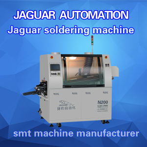 Automatic Double Wave Soldering Machine Manufacturer in Shenzhen pictures & photos