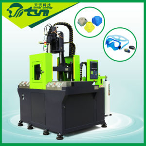 Diving Goggles Making Machine / Silicone Diving Mask Injection Molding Machine