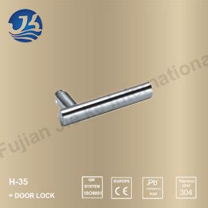 Stainless Steel 304 Simple Design Door Handle Lock (H-35) pictures & photos
