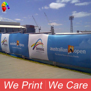 Indoor Outdoor Polyester Mesh Fabric Printing Fence Poly Banner pictures & photos