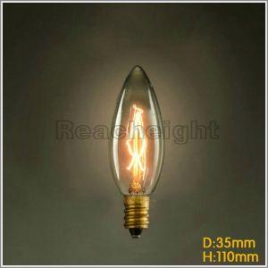 Fg C35110V 220V Marconi Style Light Bulb Vintage Edison pictures & photos