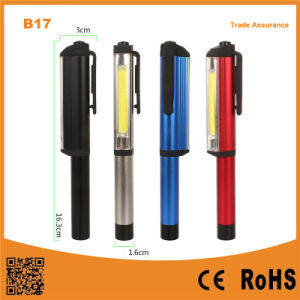 Multi-Functional Pen Shape COB Portable LED Work Light with Magnetic Clip pictures & photos