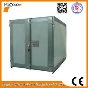 Gas / Diesel Fired Powder Curing Oven with Trolley System pictures & photos