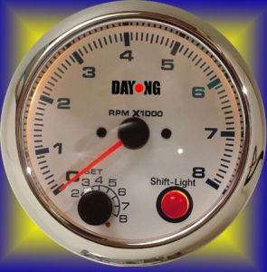 """3 3/4"""" (95mm) Tachometer for Single Color LED Tachometer (8040SW) pictures & photos"""