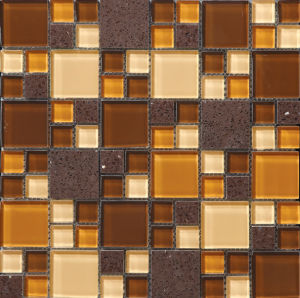 Glass Mosaic Tile (MY3017) pictures & photos