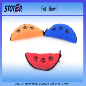 600d Folding Oxford Fabric Water Dog Travel Bowls pictures & photos