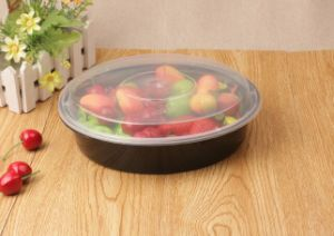 Disposable Microwavable Round Small Pp Plastic Food Containers For