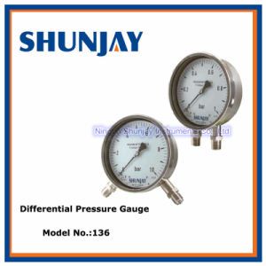 Bellow Type Differential Pressure Gauge pictures & photos