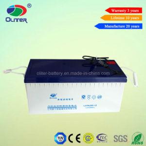 Oliter Energy 12V 200ah Solar Power Battery with High Quality