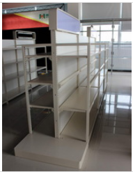 Metal Supermarket Shelf Suit for South Americas City pictures & photos