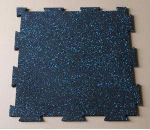 Children Rubber Flooring, Interlocking Rubber Tiles, Colorful Rubber Paver pictures & photos