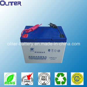 Oliter UPS Emergency Gel Battery12V70ah with CE RoHS TUV pictures & photos