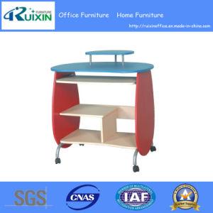 Elegant Wooden Computer Table Design (RX-8050)