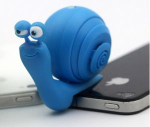 Snail Shape Mobile Phone Mini Speaker pictures & photos
