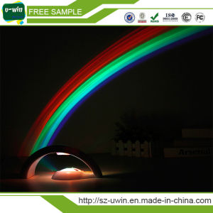 Magic Colorful LED Rainbow Projector Lamp Night Light pictures & photos