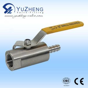 Stainless Steel 1PC Threaded Ball Valve pictures & photos