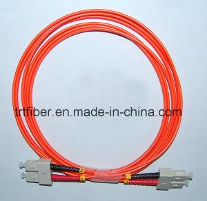 Sc-Sc mm 50/125 Duplex 2.0mm 2m Fiber Optic Patch Cord Cable pictures & photos