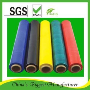 Coloured Soft PE Stretch Film pictures & photos