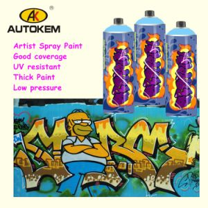 Acrylic Spray Paint Designed for Artist Graffiti Paint pictures & photos