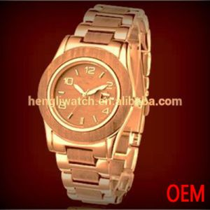 Hot Fashion Wood and Alloy Watches, Inexpensive Watch (Ja15051) pictures & photos