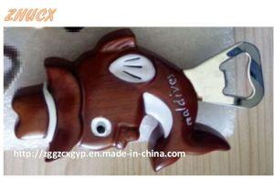 Cute Bottle Opener/ Wooden Opener/Carton Wooden Bottle Opener pictures & photos