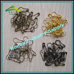Wholesale 7/8′′ Plated Color Fancy Pear Safety Pins (P160721B) pictures & photos