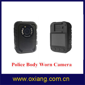 Ambarella A7 Full HD Police Body Worn Camera with Night Vision and GPS pictures & photos